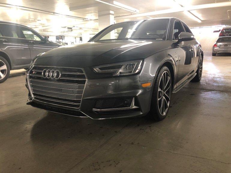 2018 Audi S4 3.0T Technik quattro, TOIT OUVRANT, NAVIGATION