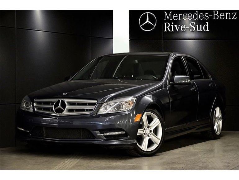 Pre-owned 2011 Mercedes-Benz C-Class C300 4MATIC, CUIR for