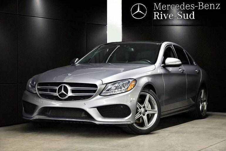 2015 Mercedes-Benz C-Class C300 4MATIC, KEYLESS-GO, SPORT PKG