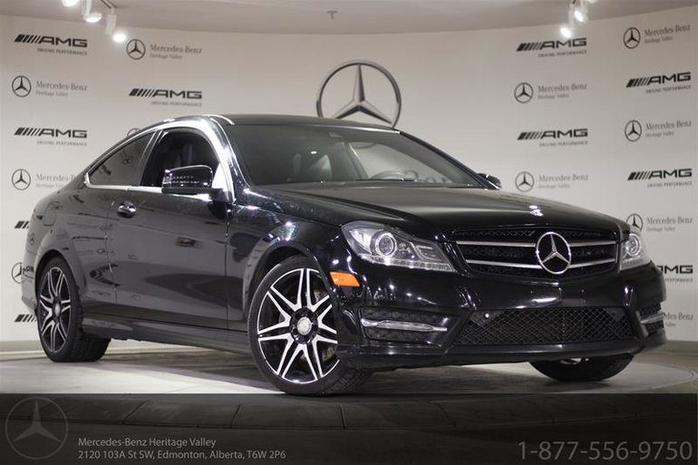 2014 Mercedes-Benz C350 4MATIC Coupe