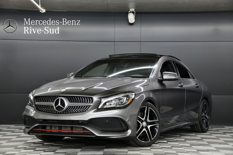 2017 Mercedes-Benz CLA-Class 4MATIC COUPE, AMG SPORT PERFORMANCE PACKAGE