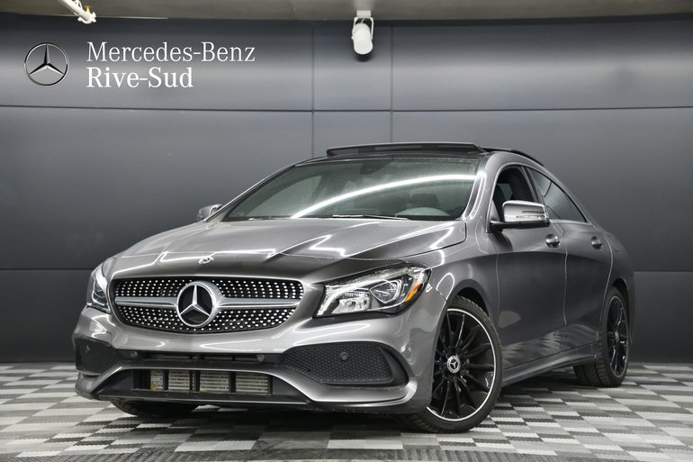 2018 Mercedes-Benz CLA-Class 4MATIC COUPE, ENSEMBLE SPORT