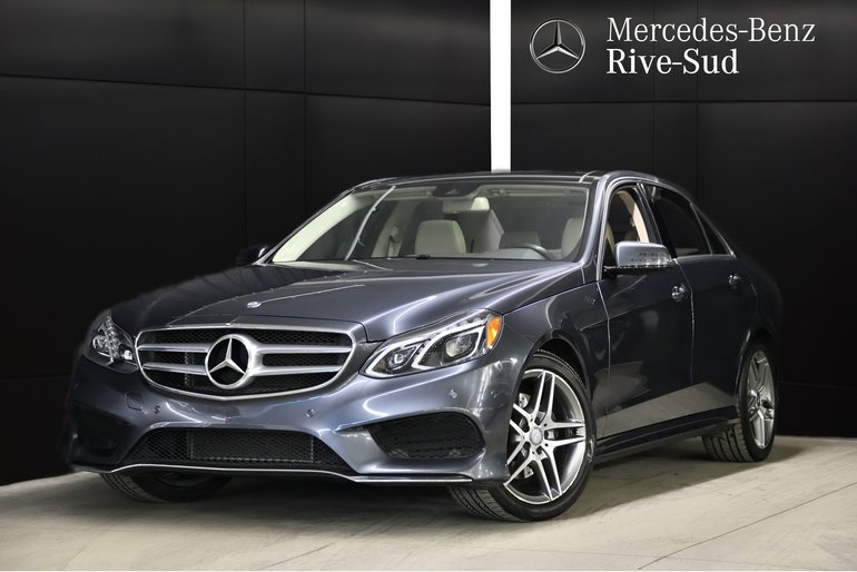 2016 Mercedes-Benz E-Class E300 4MATIC, TOIT PANORAMIQUE