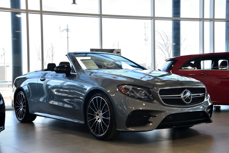 Mercedes Benz Accessories >> New 2019 Mercedes-Benz E53 AMG 4MATIC+ Cabriolet for sale - $112144.3 | Mercedes-Benz Rive-Sud