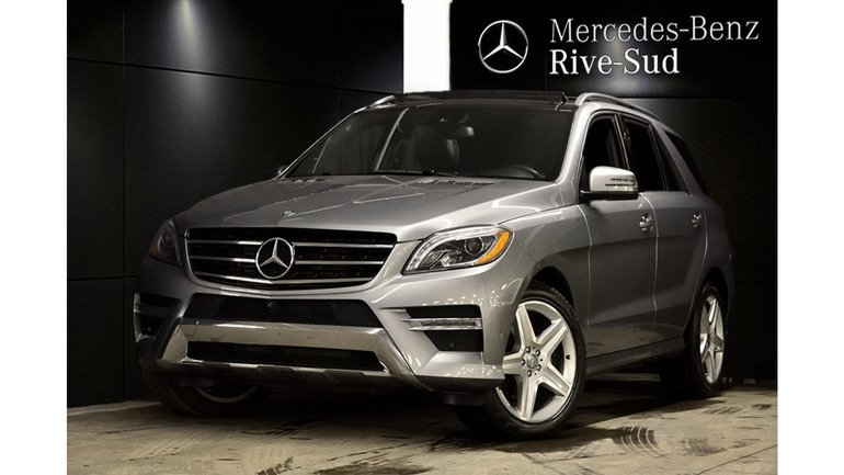 2015 Mercedes-Benz M-Class ML350 BlueTEC 4MATIC, AIR MATIC, NAVIGATION