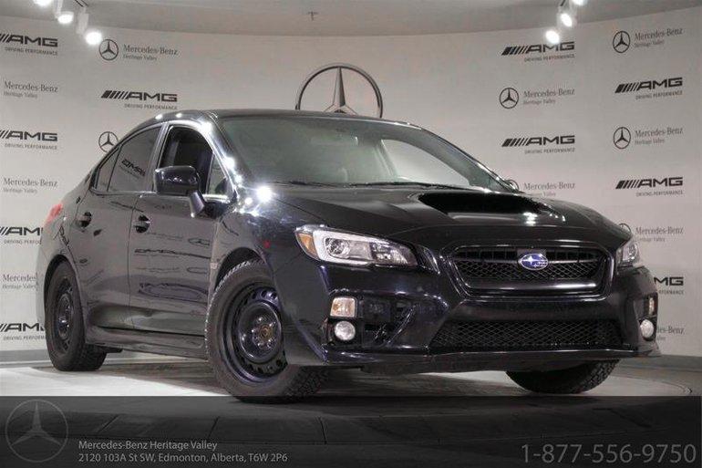 2015 Subaru WRX 4Dr Sport-Tech Pkg CVT
