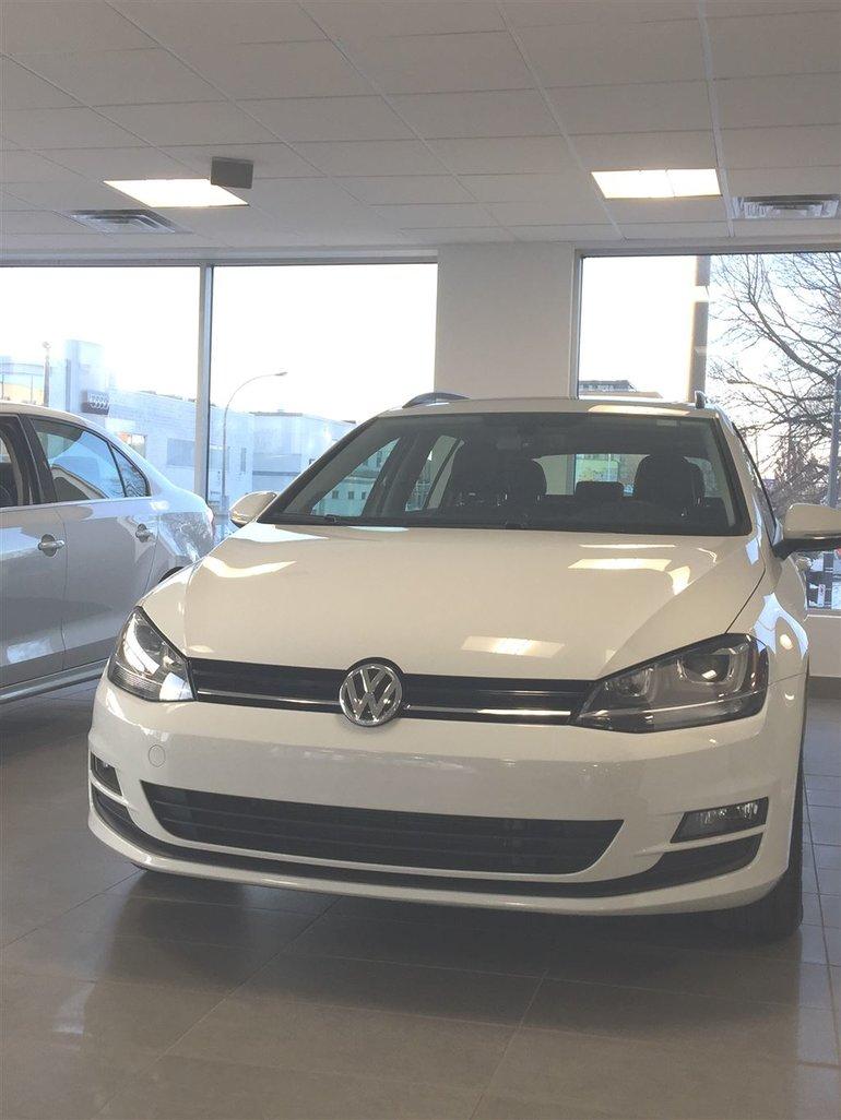 2015 Volkswagen Golf Sportwagon 1.8 TSI Comfortline