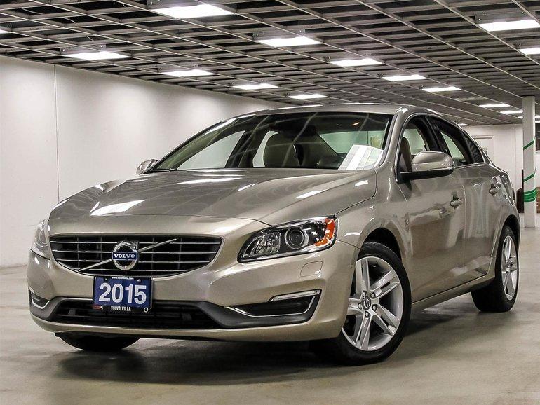 2015 Volvo S60 T5 Drive-E FWD Premier Plus