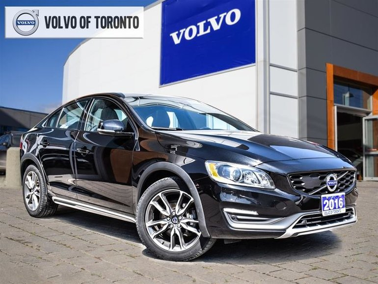 2016 Volvo S60 Cross Country T5 AWD Platinum