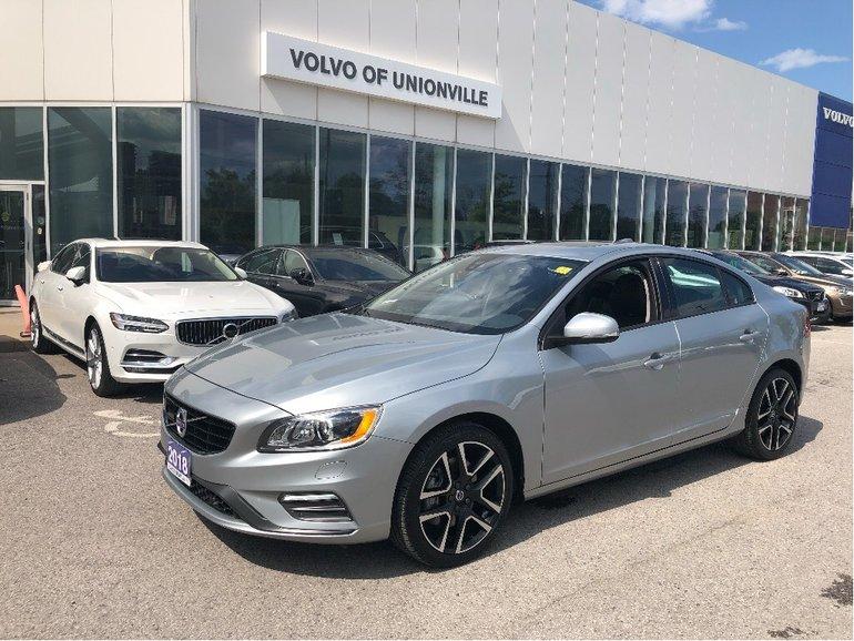 2018 Volvo S60 T5 AWD Dynamic FINANCE 0.9% O.A.C.