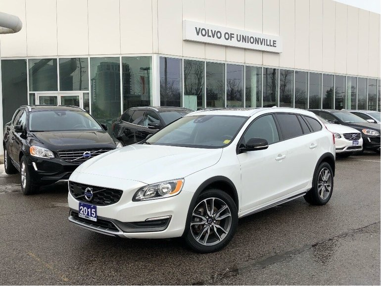 2015 Volvo V60 Cross Country T5 AWD Premier Plus FINANCE 0.9% O.A.C.!