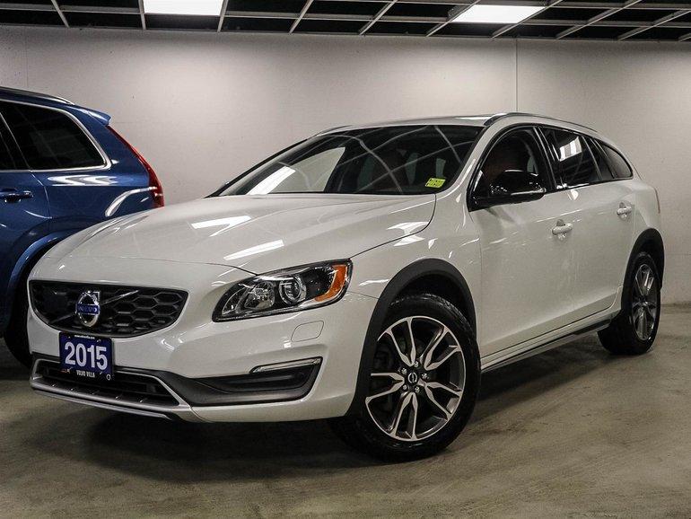 2015 Volvo V60 Cross Country T5 AWD Premier Plus