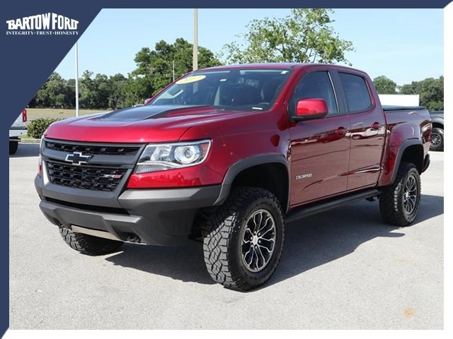 Pre Owned 2017 Chevrolet Colorado Zr2 In Bartow T14710pa Bartow Ford