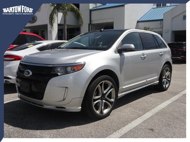Ford Edge Sport 2013 >> Pre Owned 2013 Ford Edge Sport In Bartow T14038pa Bartow Ford
