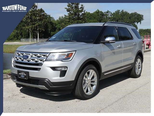 New 2019 Ford Explorer Xlt In Bartow X5094 Bartow Ford