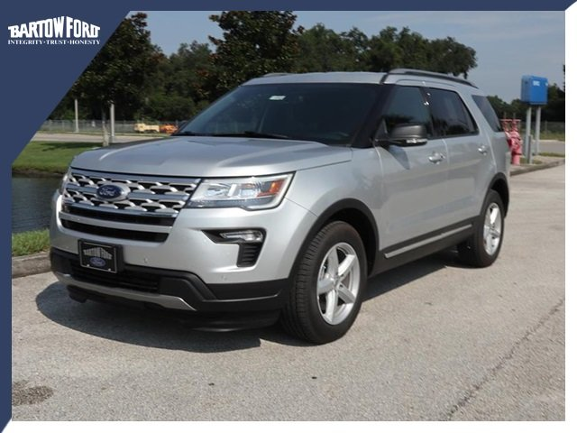 New 2019 Ford Explorer Xlt In Bartow X1767 Bartow Ford