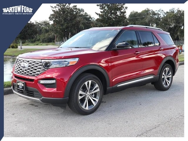 New 2020 Ford Explorer Platinum In Bartow Y9193 Bartow Ford