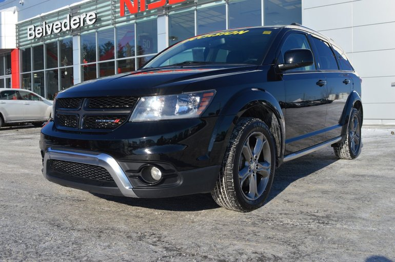 2017 Dodge Journey Crossroad AWD  7 PASSAGERS CUIR MAGS