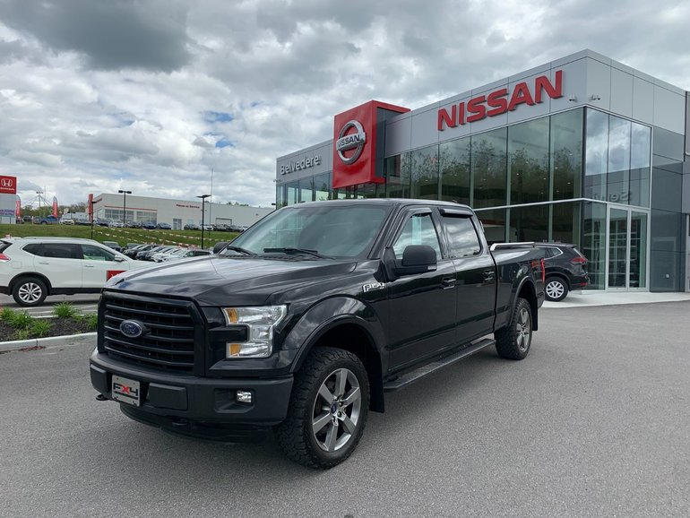 2015 Ford F-150 XLT  SPORT   FX4 EDITION 302A