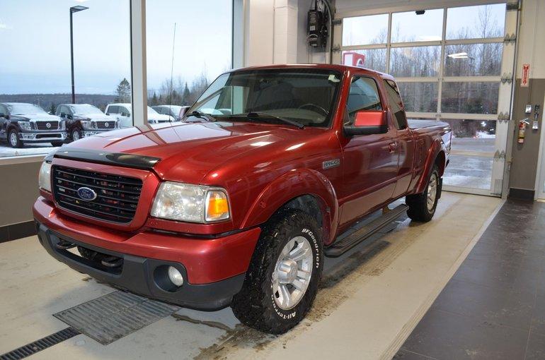 2008 Ford Ranger SPORT  4X4   PNEUS D'HIVER INCLUS   TOILE DE BOITE