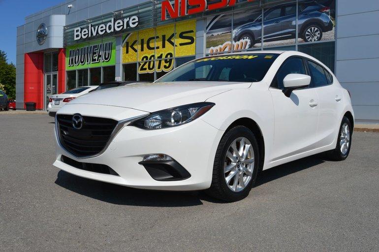 2014 Mazda Mazda3 GS SPORT HATCHBACK MANUEL MAGS AILERON CAMERA