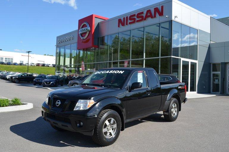 2010 Nissan Frontier PRO-4X  MANUEL  4x4  TRÈS RARE!!!!!