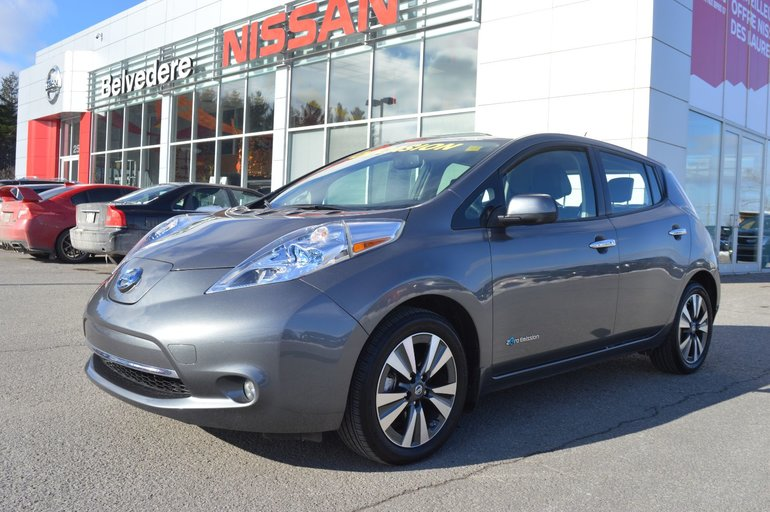 2016 Nissan Leaf SL NAVIGATION RABAIS 4000$ APPLIQUÉ QUICK CHARGE
