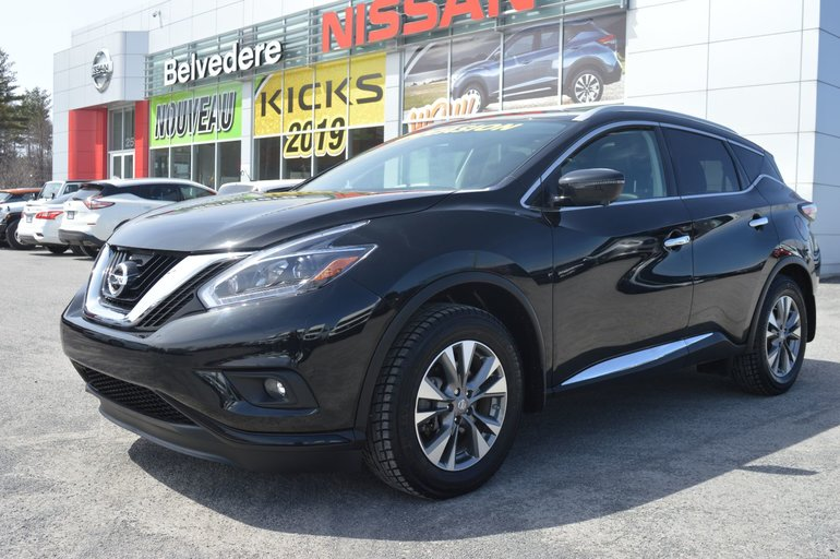 Nissan Murano SL AWD CUIR TOIT PANORAMIQUE GPS DÉMONSTRATEUR 2018