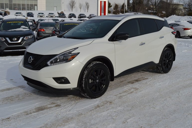 2018 Nissan Murano SL AWD, TOIT PANORAMIQUE, CUIR