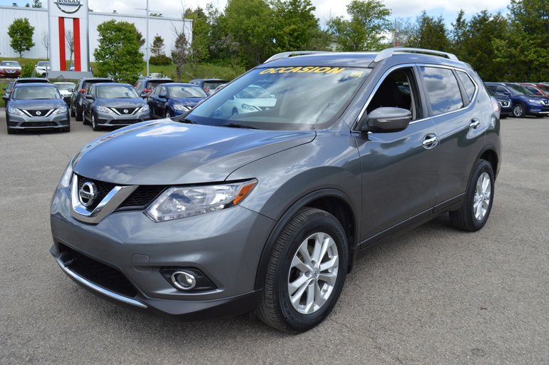 2015 Nissan Rogue SV AWD TOIT OUVRANT CAMERA DE RECUL