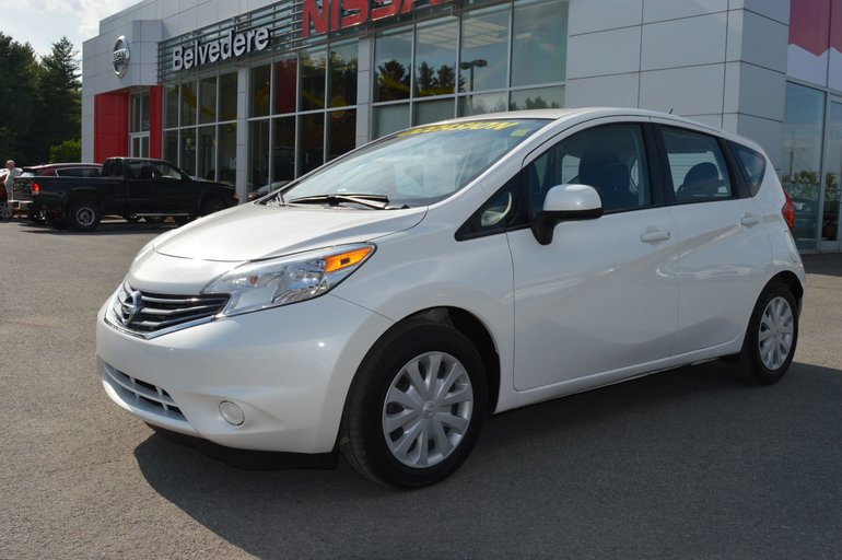 Nissan Note Occasion >> Belvedere Occasion Used 2014 Versa Note Sv Automatique Groupe