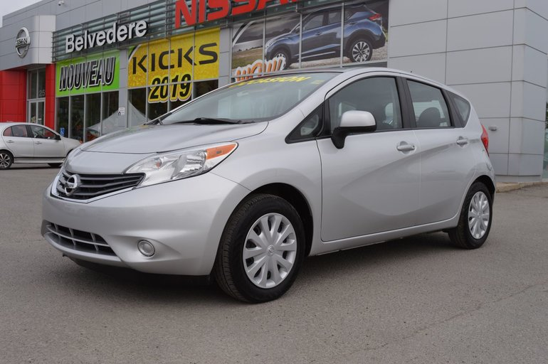 Nissan Note Occasion >> Belvedere Occasion Used 2014 Versa Note Sv Automatique
