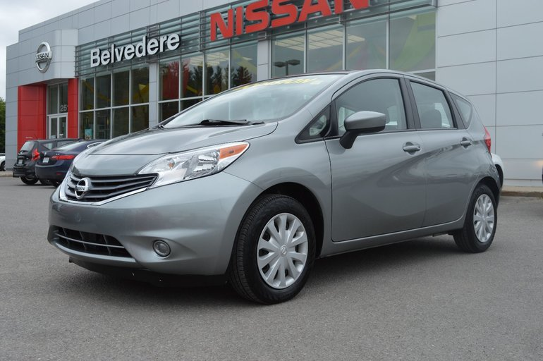 Nissan Note Occasion >> Belvedere Occasion Used 2015 Versa Note Sv Automatique