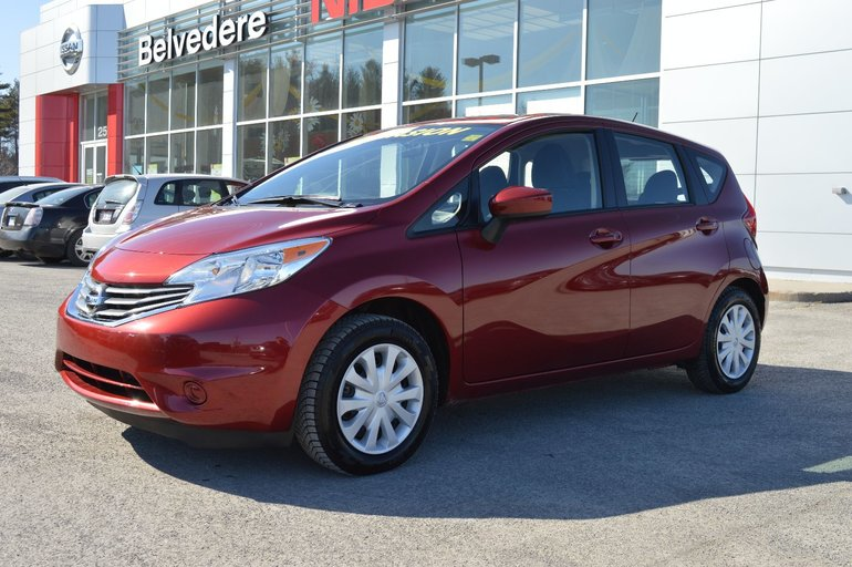 Nissan Note Occasion >> Belvedere Occasion Used 2016 Versa Note Sv Automatique Camera De