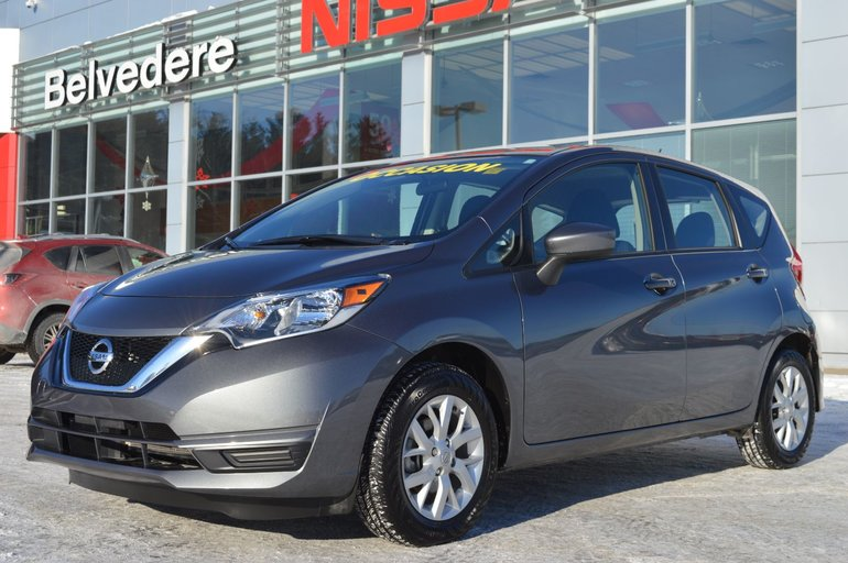 Nissan Versa Note SV MAGS CAMERA RECUL SIÈGES CHAUFFANTS BLUETOOTH 2018