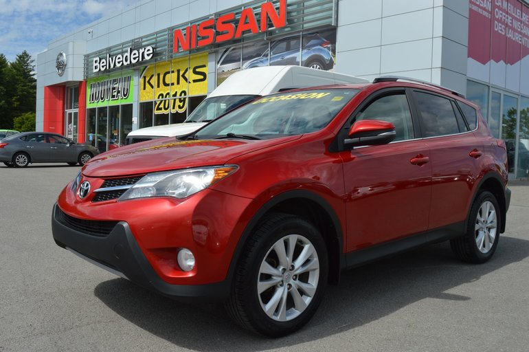 2013 Toyota RAV4 LIMITED AWD TOIT-OUVRANT NAVIGATION CUIR