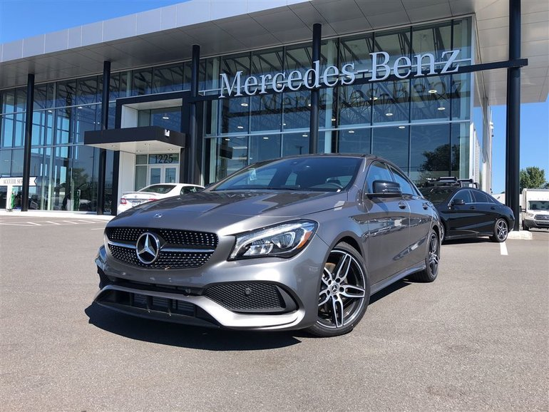 Mercedes-Benz Granby | New 2018 Mercedes-Benz CLA CLA 250