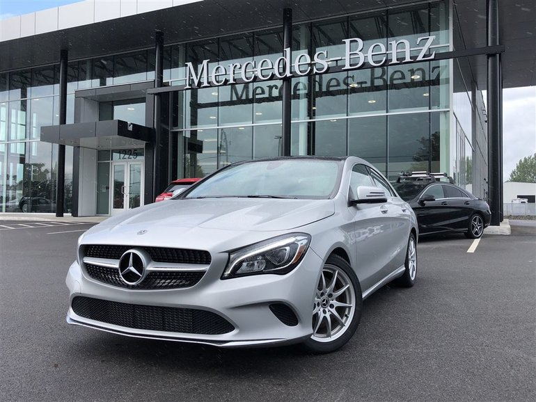Mercedes-Benz Granby | New 2018 Mercedes-Benz CLA CLA 250