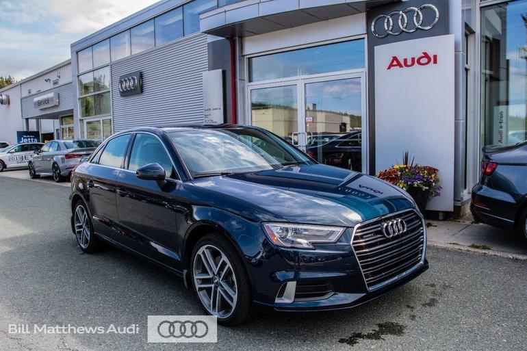 2018 Audi A3 2.0T Progressiv quattro 6sp S tronic