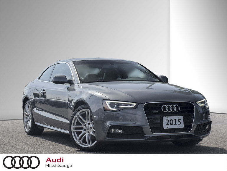 2015 Audi A5 2.0T Technik quattro 8sp Tiptronic Cpe