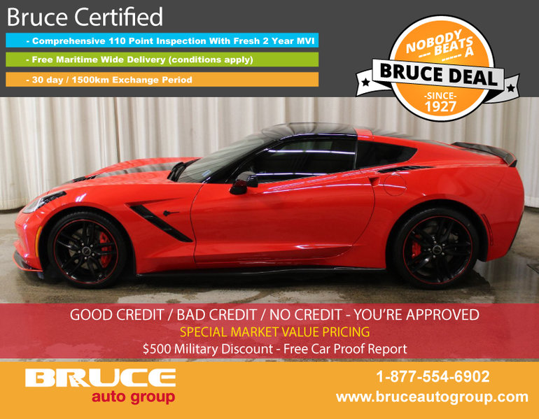Used 2015 Chevrolet Corvette Z51 2lt The Lowest Price In Canada