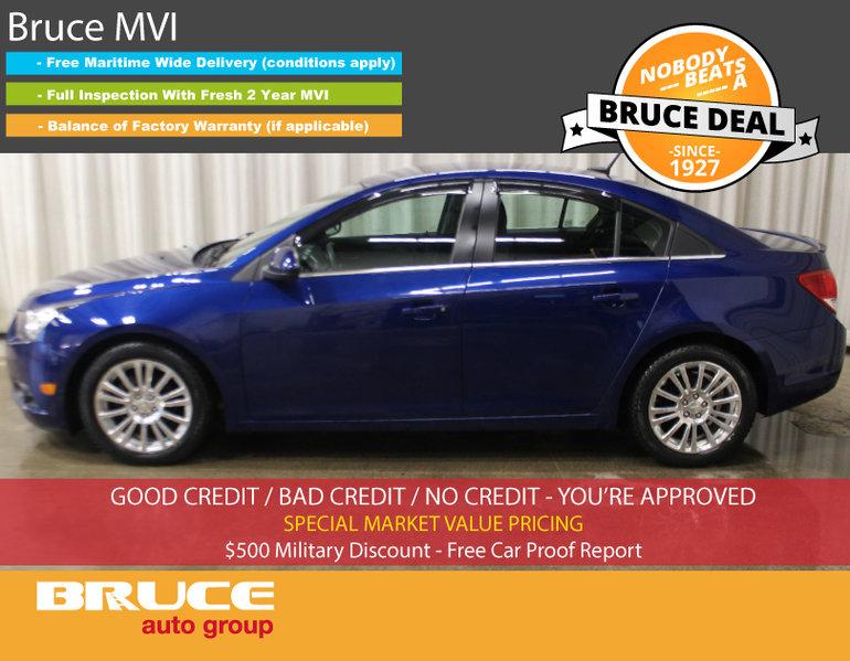 Used 2012 Chevrolet Cruze ECO 1 4L 4 CYL TURBO 6 SPD MANUAL