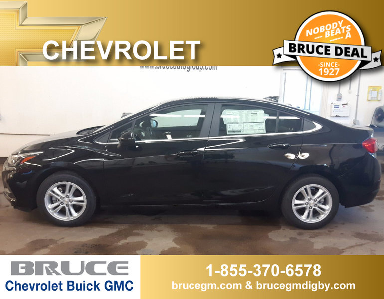 New 2017 Chevrolet Cruze Lt 1 6l 4 Cyl Turbo Diesel Automatic Fwd 4d Sedan For Sale 27011 0 Bruce Chevrolet Buick Gmc Digby