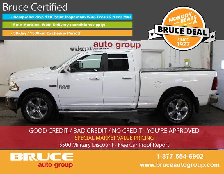 Used 2014 Dodge Ram 1500 Big Horn 3 0l 6 Cyl Ecodiesel 4x4 Quad Cab For Sale 28014 0 Bruce Gm
