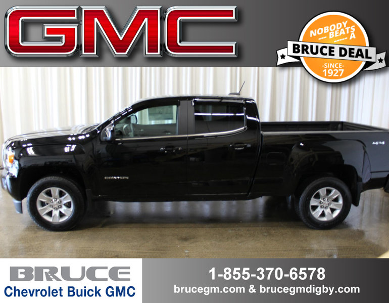 2017 GMC Canyon SLE 3.6L 6 CYL AUTOMATIC 4X4 CREW CAB
