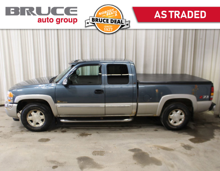 Used 2006 Gmc Sierra 1500 Z71 Sle 4 8l 8 Cyl Automatic 4x4 Extended