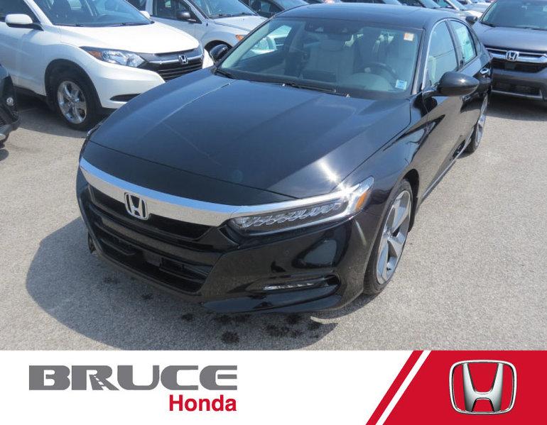 2018 Honda Accord TOURING 2.4L 4 CYL CVT FWD 4D SEDAN