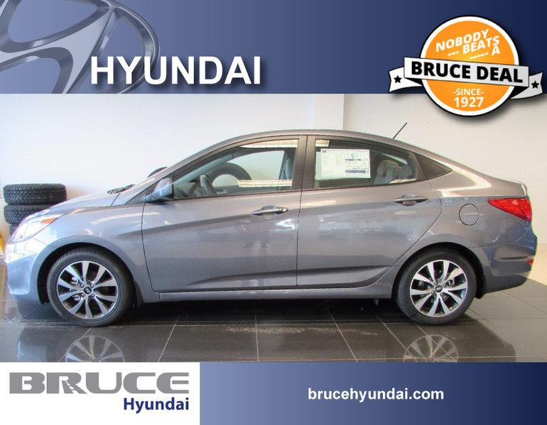 2017 Hyundai Accent SE 1.6L 4 CYL AUTOMATIC FWD 4D SEDAN