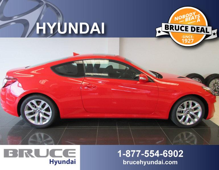 2016 Hyundai Genesis 3.8L 6 CYL AUTOMATIC RWD 2D COUPE