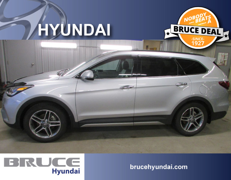 New 2017 Hyundai Santa Fe Xl Limited 6 Pass For Sale 40454 0 Bruce Hyundai